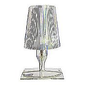 Take Table Lamp by Kartell (Crystal) - OPEN BOX RETURN