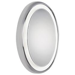 Tigris Recessed Oval Mirror