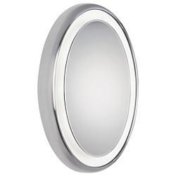 Tigris Recessed Oval Mirror
