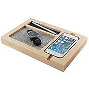 Timber Tray iPhone 6 Charging Station