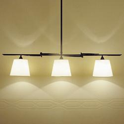 Tous 3 Luces Linear Suspension