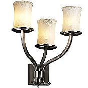 Veneto Luce Sonoma 3 Light Wall Sconce