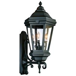 Verona Outdoor Wall Sconce BCD683 (Black/Large) - OPEN BOX