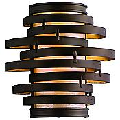 Vertigo Wall Sconce (Bronze/Gold Leaf) - OPEN BOX RETURN