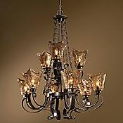 Vetraio 2-Tier Chandelier