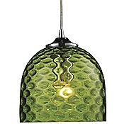 Viva Pendant (Green/Satin Nickel) - OPEN BOX RETURN