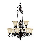 Wilton 9-Light Chandelier