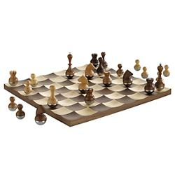 Wobble Chess Set (Walnut) - OPEN BOX RETURN