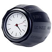 World Time Clock (Black) - OPEN BOX RETURN
