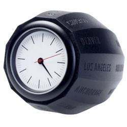 World Time Clock (Black) - OPEN BOX RETURN