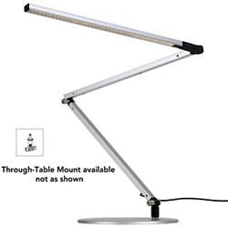 Z-Bar 3 Desk Lamp (Silver/Through-Table Mount) - OPEN BOX
