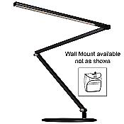 Z-Bar Gen 3 Desk Lamp (Metallic Black/Wall/Warm) - OPEN BOX