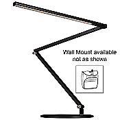 Z-Bar Gen 3 Desk Lamp (Metallic Black/Wall/Warm) - OPEN BOX