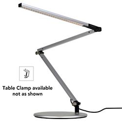 Z-Bar Mini Gen 3 Desk Lamp (Silver/Clamp/Cool) - OPEN BOX