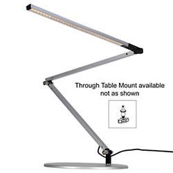Z-Bar Slim Gen 3 Lamp (Silver/Through-Table/Warm) - OPEN BOX