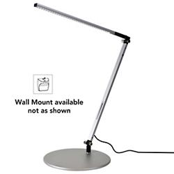 Z-Bar Solo Gen 3 Desk Lamp (Silver/Wall Mount) - OPEN BOX