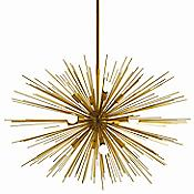 Zanadoo Chandelier (Antique Brass/Large) - OPEN BOX RETURN