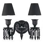 Zenith Noir 2-Light Wall Sconce with Shade