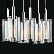 Zylinder Multi-Light Linear Pendant