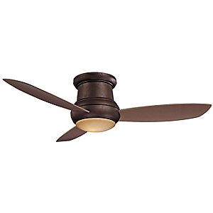 Concept II Wet 52 in. Flush Ceiling Fan with Optional Light by Minka Aire