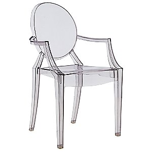 Louis Ghost Armchair Set of 4 by Kartell