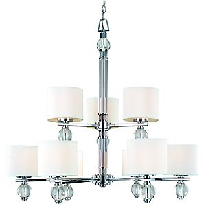 Bentley 9-Light Chandelier by Troy Lighting