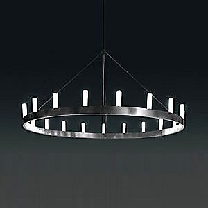 Single Tier Chandelier by FontanaArte