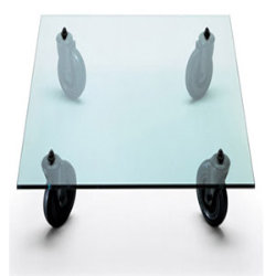 Rectangle Tavolo con ruote Coffee Table by FontanaArte
