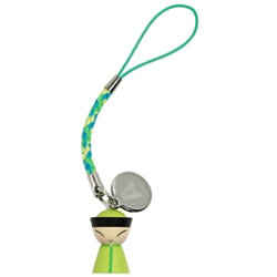 Mr. Chin Cell Phone Charm by Alessi