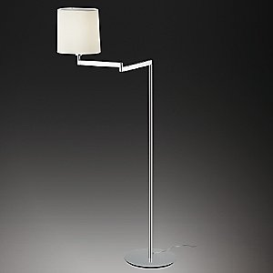Swing with Shade Floor Lamp by Vibia