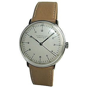 Max Bill Manual Wrist Watch with Numbers