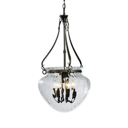 Acharn Foyer Pendant with Water Glass by Hubbardton Forge