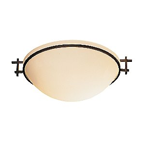 Moonband Flushmount by Hubbardton Forge