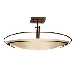 Mackintosh Semi-Flushmount-Oval by Hubbardton Forge