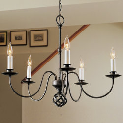 Ball Basket Five Arms Chandelier by Hubbardton Forge