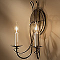 Trellis Two Light Wall Sconce With Candles by Hubbardton Forge