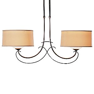 Almost Infinity Duet Two Light Suspension by Hubbardton Forge