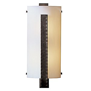 Forged Vertical Bars ADA Wall Sconce by Hubbardton Forge