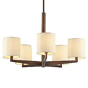 Fisher Island 5-Light Chandelier by Forecast Lighting