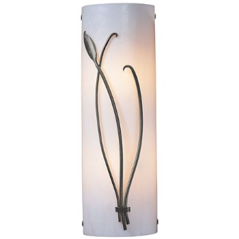 Forged Leaves Table Lamp On Oblong Base