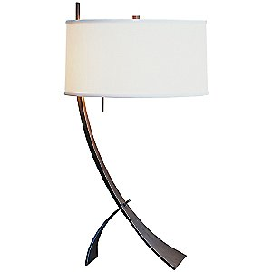 Stasis Table Lamp with Shade Option by Hubbardton Forge