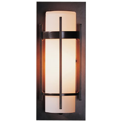Banded Aluminum Outdoor Sconce - ADA by Hubbardton Forge