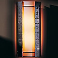 Textured Vertical Panels Outdoor Wall Sconce by Hubbardton