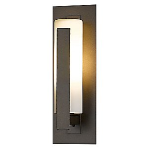 Forged Vertical Bars Outdoor Wall Sconce-Wet by Hubbardton