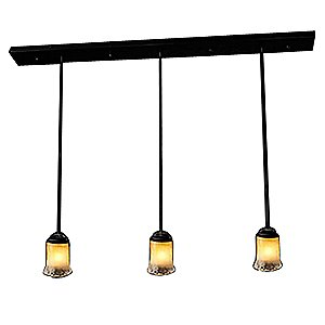 Veneto Luce Multi-light Pendant by Justice Design Group