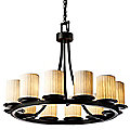 Limoges Dakota 12 Light Chandelier by Justice Design Group