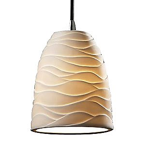 Limoges Mini Tapered Pendant by Justice Design Group