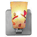 Carnevale Kandinsky Gold Quadro ADA Wall Sconce by Oggetti Luce
