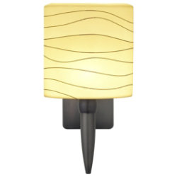 Wave Oval Torch Wall Sconce by Oggetti Luce