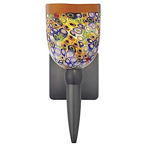 Fantasia Belle Klimt Multi Torch Wall Sconce by Oggetti Luce